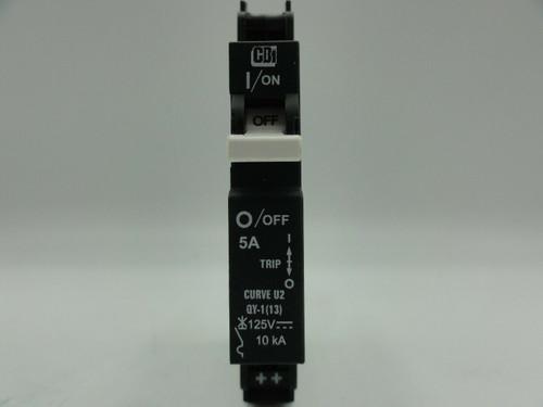 MidNite CBi DIN Mount 125V DC 5A 1-Pole Circuit Breaker