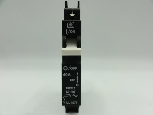 MidNite CBi DIN Mount 277/480V AC 40A 1-Pole Circuit Breaker