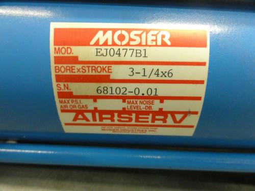 MOSIER MODEL EJ0477B1 AIRSERV CYLINDER , BORE x STROKE: 3 1/4 x 6