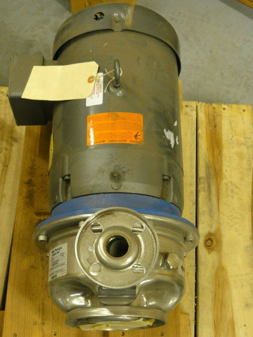 NEW G&L Pump SSH 1 - 2x 8, Baldor 7.5HP MOTOR