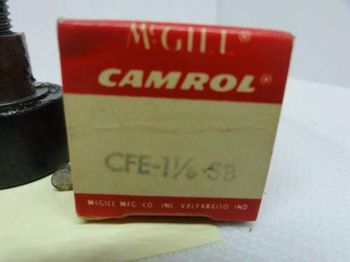 NEW MCGILL CFE-1 1/8-SB (MC-6) CAMROL CAM FOLLOWER ROLLER DIAMETER 1-1/8IN