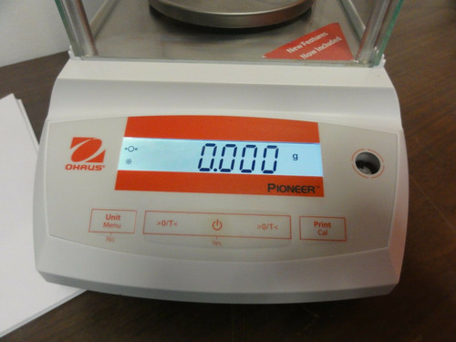 Ohaus Pioneer PA323C Enclosed Digital Balance w/ Manual, Max: 320g, d=0.001g