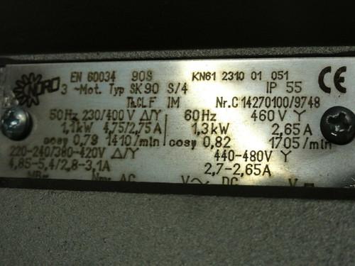 NORD REDUCER GEAR MOTOR SK 32100F-90 GEAR MOTOR ***NEW IN BOX***