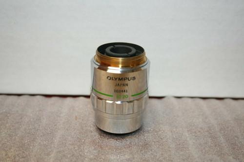 Olympus IC20 Microscope Objective NeoSPlan 20 Infinity Corrected 0.45 / f=180