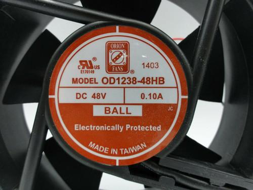 Orion Cooling Fan OD1238-48HB 48V DC .1A