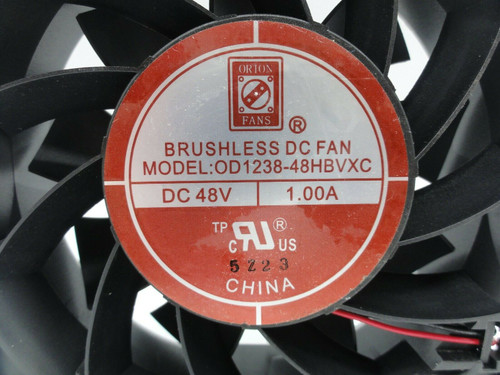 Orion Cooling Fan OD1238-48HBVXC 48V DC 1A Used