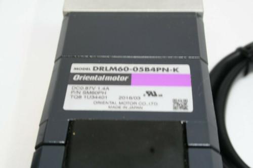 Oriental Motor Model DRLM60-05B4PN-K Linear Actuator, P/N SM60PH, DCO. 87V, 1.4A