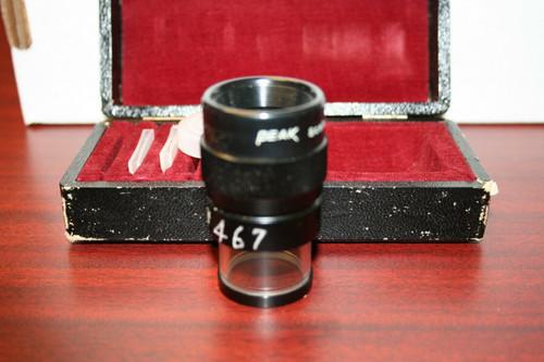 PEAK Scale Magnifier Lupe 7X w/ Case
