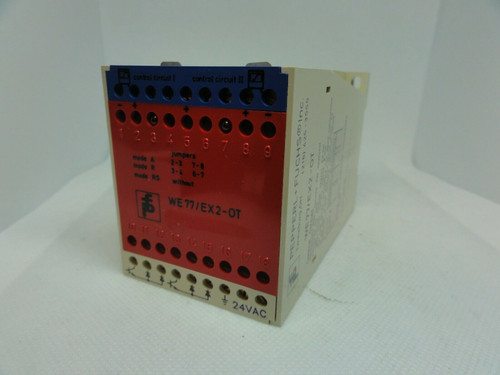 PEPPERL+FUCHS MODEL WE 77/Ex-2-OT SAFETY RELAY SWITCH ISOLATOR *NEW*
