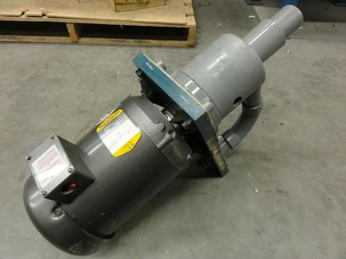 Pump w/ Baldor VM3610 Motor 3HP 3450RPM 208-230/460V, Spec 36A15-105 FR: 184C