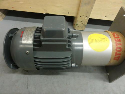 Sager & Mack - Atotech SM50-100-12-S Immersion Pump w/ Motor (2001) *NEW*
