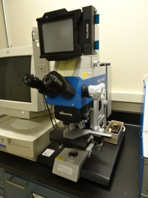 Reichert-Jung Polymar MET Microscope with Reichert Jung 6526-04 Controller
