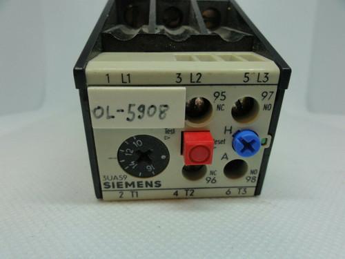 Siemens 3UA59 00-2A Overload Relay, 10-16 Amp