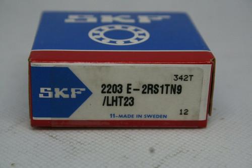 SKF Model 2203E-2RS1TN9/LHT23 Self Aligning Ball Bearing *NEW*