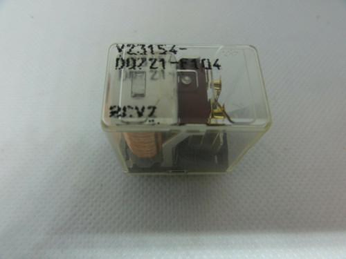 SIEMENS MODEL V23154-D0721-F104 RELAY