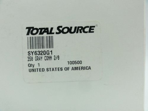SMH Total Source SY6320G1 Breakaway Connector 355A-600V