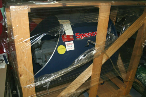 Spencer Cat# S-815 Standard Overhung Turbo-Blower, US Motor 15HP, NEW CRATED