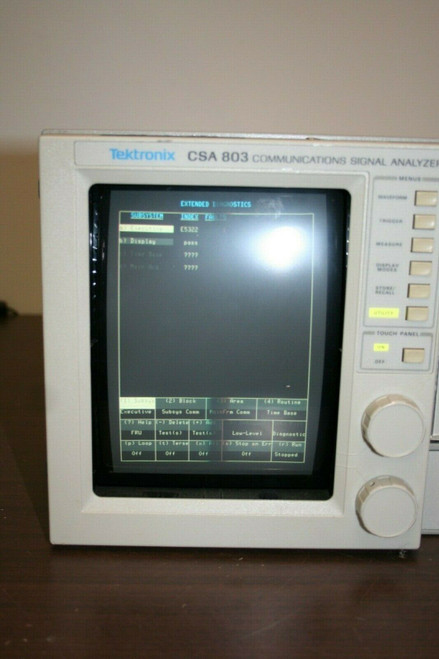Tektronix Model CSA803 Communications Signal Analyzer