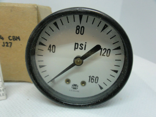 "U.S. Gauge Ametek 2"" P500 160# 1/4 CBM PSI Indicator"