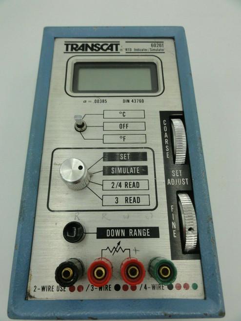 TRANSCAT 6020T RTD INDICATOR/SIMULATOR