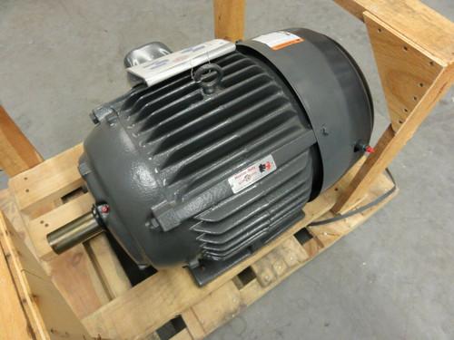 US Motors Cat# H25E1DS Motor, 25hp, FR: 284TS, Model R899, Type FCT, 3555 RPM