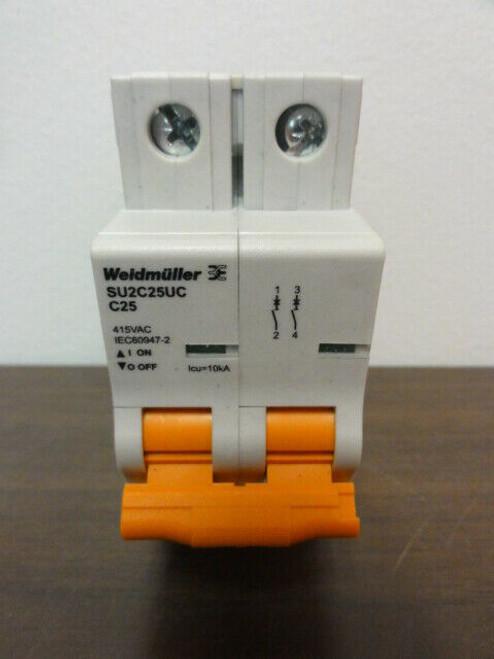 Weidmuller SU2C25UC Circuit Breaker C25 - 415VACIEC60947-2
