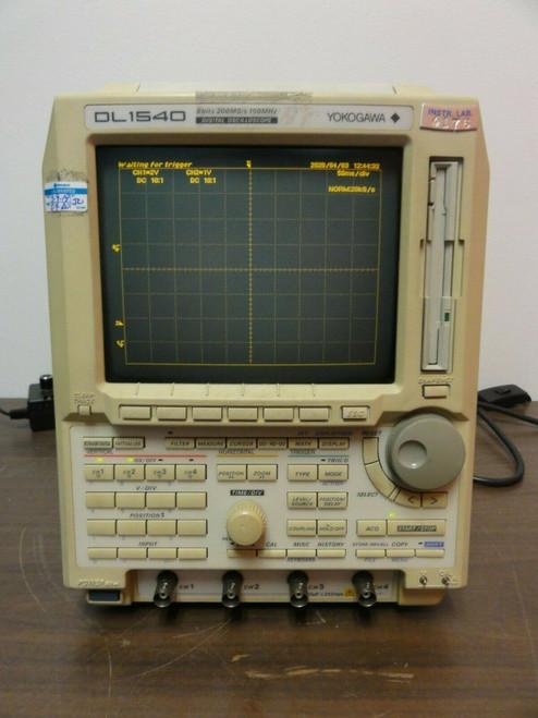 Yokogawa DL1540 Digital Oscilloscope, 8 bits, 200MS/s, 150MHz, Model 701510