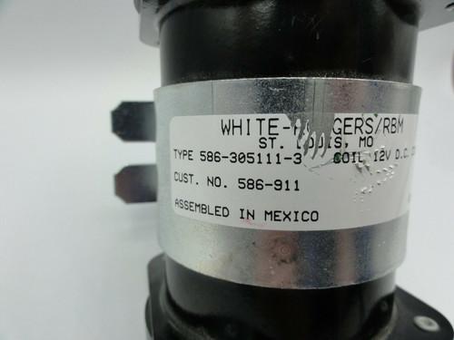 White Rodgers/RBM 586-305111-3 12V DC Solenoid