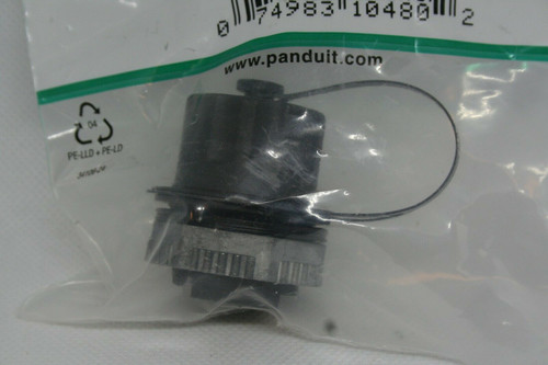 Panduit IAEBHC6 Industrial Ethernet Bulkhead Coupler, Cat 6