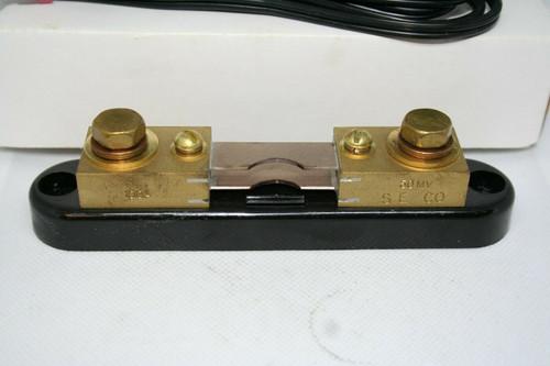 Simpson Electric Cat# 06713 Shunt, 100Amp, 50mV