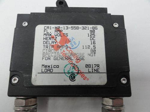 (11) Carling Technologies AD-7394 CA1-XO-13-558-321-BG 1 Pole Circuit Breaker