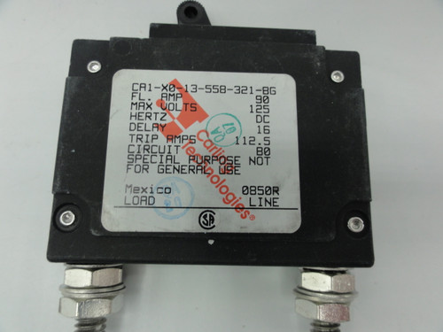 Carling Technologies AD-9429 CA1-XO-13-558-321-BG 1 Pole Circuit Breaker