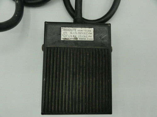 Linemaster T-51-SC36 7A 125-250VAC 1/6 HP Treadlite Foot Switch