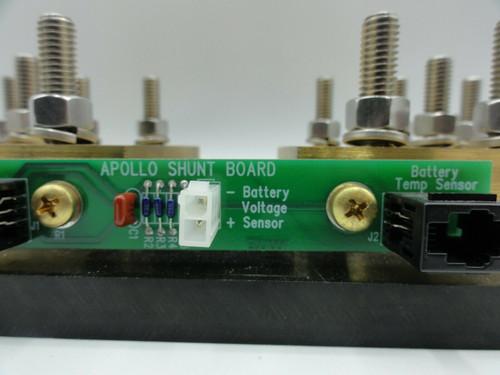 MidNite Solar D191910 Deltec Electrical Shunt 1000A 100mV w/ Apollo Solar Board
