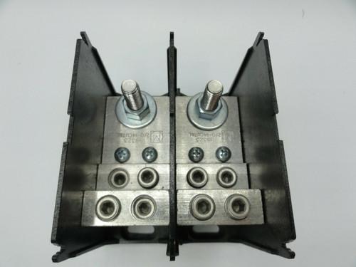 Marathon 1332270 Power Distribution Block 600V 510A, 3/8-16 stud, 2 pole