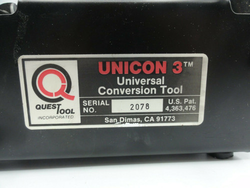Quest Tool Unicon 3 Universal Conversion Tool - Bench Adapter for Gripping Tools