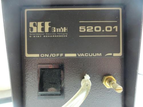 Scharnebecker Electronic Fertigung GmbH 520.1 D2127 Scharnebeck Vacuum Generator
