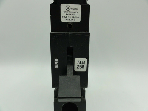 Sensata Airpax JLM-1-1-51-3-B4 250A 50/60Hz 1 Pole Circuit Breaker