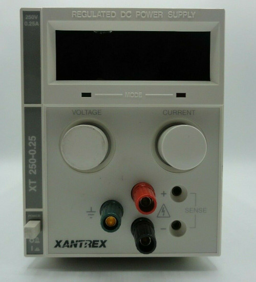 Xantrex XTS 250-0.25X Regulated DC Power Supply 0-250V 0-0.25A