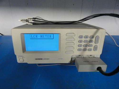GW Instek LCR-821 - LCR Meter w/ Test Leads (LCR-OPT-02)