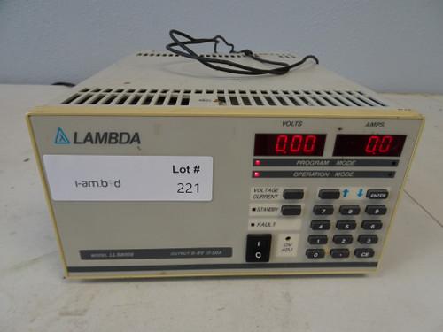 Lambda Model LLS8008 0-8V @ 50A Power Supply