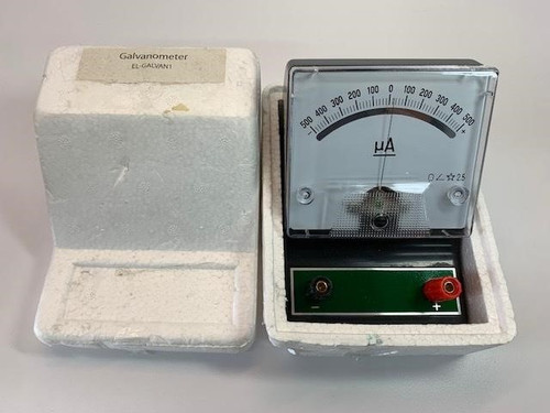 +/- 500uA Moving Coil Galvanometer