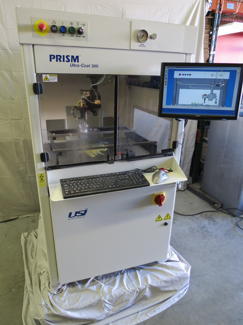2009 USI Ultrasonic Systems Inc. Prism Ultra-Coat 300 Conformal Coating Machine