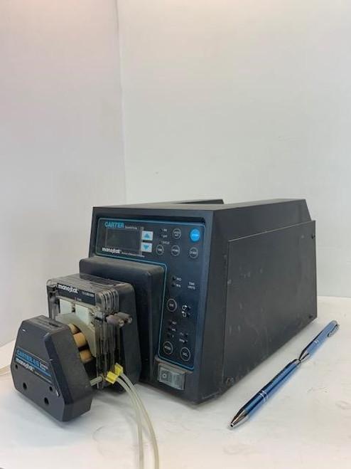 Carter / Barnant Company Manostat  74-000-12131 Cassette Style Peristaltic 3.5- 200 RPM Pump