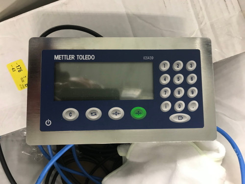 Mettler Toledo PBK989-A3 Precision Scale, Starrett AA Surface Plate w/ S.S. Castered Cart