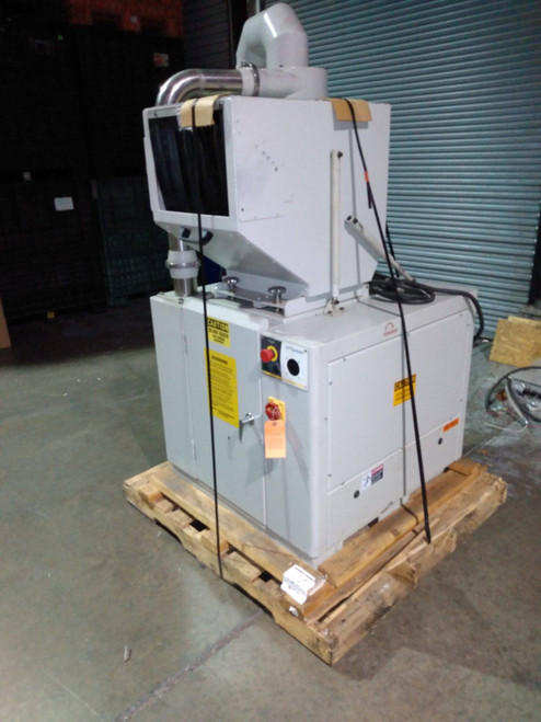"""Autogrind GPG-914 Granulator, 10-hp, w/ Blower and Cyclone, 10x14"""" Opening"""