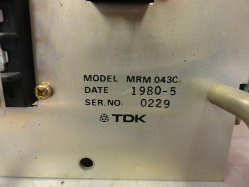 TDK / Okuma MRM 043C Power Supply