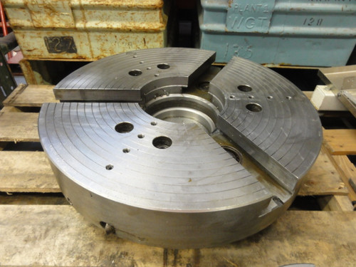 "Okuma 24"" Three Jaw Chuck - Removed from LH55-N Lathe"
