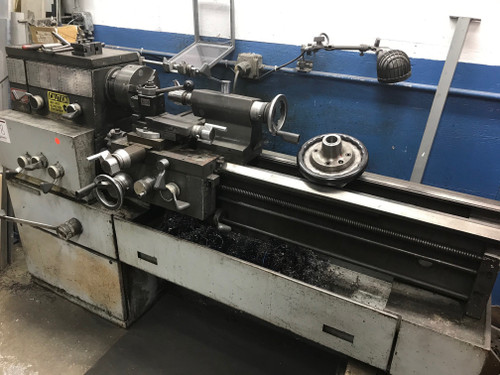 Mondiale Engine Lathe, Chuck, Toolpost, Tailstock, 5' Bed, S/N 14NCC67206TH