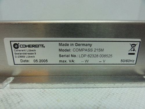 Coherent Compass 215M Laser Controller